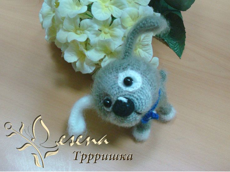 Project by Lesena. Little Puppy Crochet pattern by Svetlana Pertseva for LittleOwlsHut #LittleOwlsHut, #Amigurumi, #CrohetPattern, #Crochet, #Crocheted, #Puppy, #Pertseva, #DIY, #Craft, #Pattern