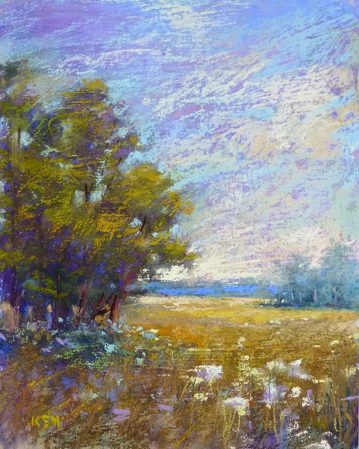'Take a Walk in the Meadow with Me'           8x10          pastel           ©Karen Margulis  click here to purchase on Etsy $95     I hat...