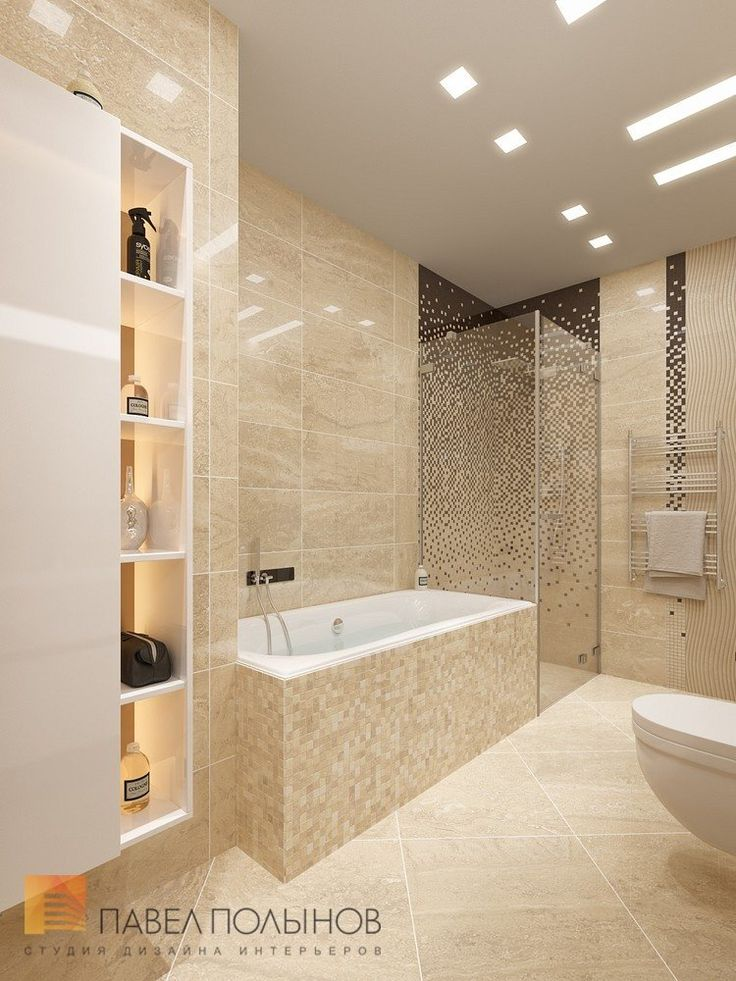 Ванная комната в ЖК Александрия