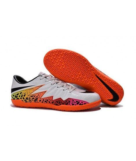 Nike Hypervenom Phelon II Indoor - WOLF GREYčernáTOTAL Oranžový Kopačky