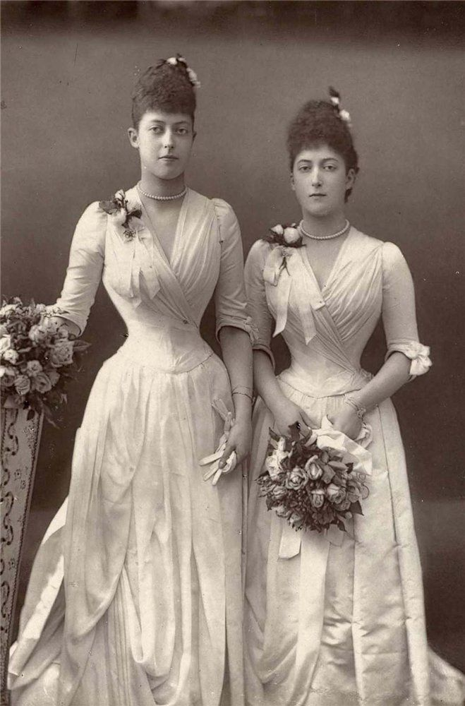 Undated; would have been the height of fashion ~1888.  >>