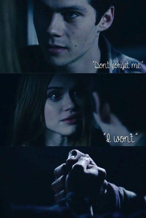 """#Stydia *Vc vai me esquecer"""" """"Eu não vou"""""""