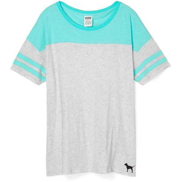 victorias secret pink athletic tee 35 aud liked on polyvore featuring tops t shirt graphic designgraphic - Ideas For T Shirt Designs