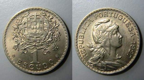 1 Escudo 1927 (Alpaca)
