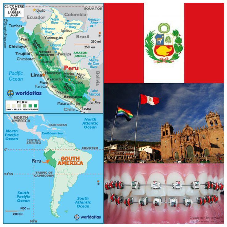 June 7 is Peru's flag day   #Brackets #colores #odontología #ortodoncia #ortodoncista #dentista #frenos #braces #colors #dentistry #orthodontics #orthodontist #dentist #Peru #Peruvian #Peruano #Peruanos #sudamerica #southamerica #espanol #lima #limaperu #cusco #cuscoperu #cuzco #arequipa