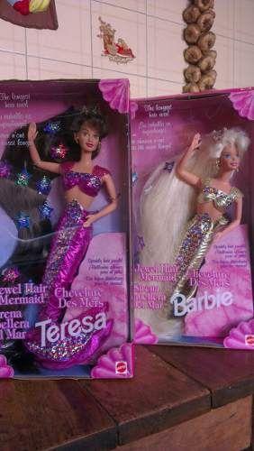 Vendo 2 Barbies Sirenas De Colección Totalmente Nuevas