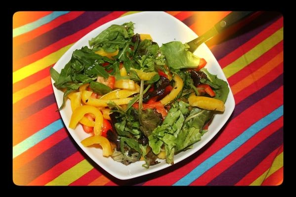 FOOD: Summer Choice // Peppers Salad | LUUUX