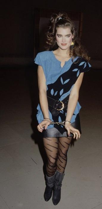 Brooke Shields - Eighties Fashion....love Brooke!