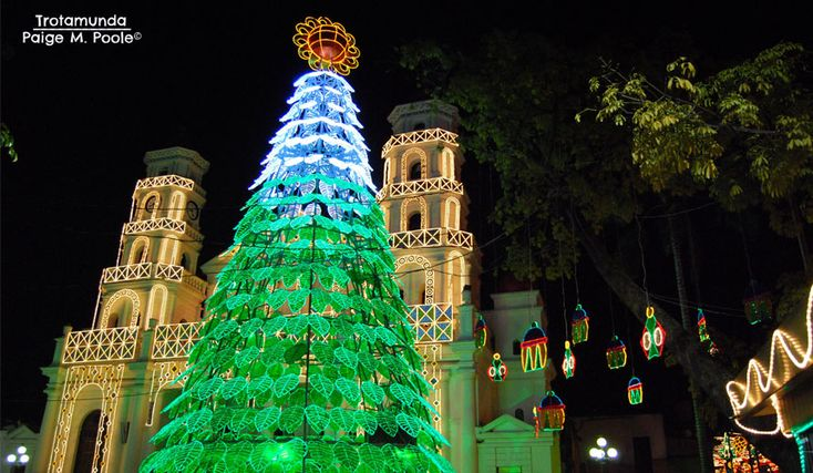 Uncover Colombia: Christmas tree in Envigado, Antioquia
