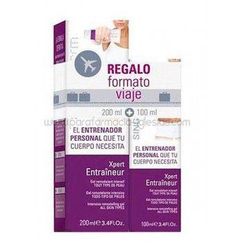 Singuladerm Xpert Entraineur Reafirmante Celulitis 200ml + Regalo Gratis Formato Viaje 100ml. Gel intensivo hidratante, remodelador y anticelulitico. Combate la flacidez y la acumulacion de grasa en muslos, nalgas, vientre y brazos.