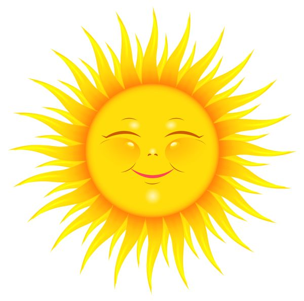 Transparent Cute Sun Picture