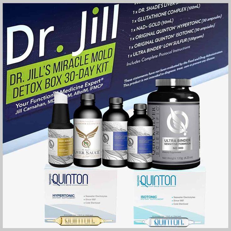 Dr. Jill's Miracle Mold Detox Box Dr. Jill Health Store