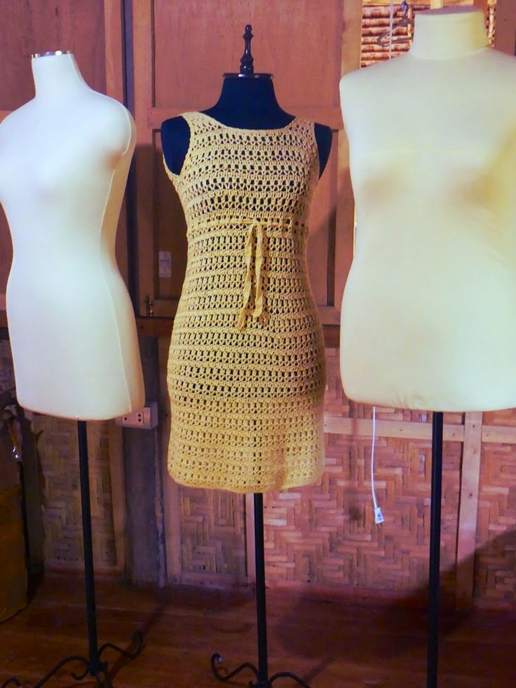 FATIMA CROCHET: How To Use A Stitch Pattern to Make Crocheted Dresses