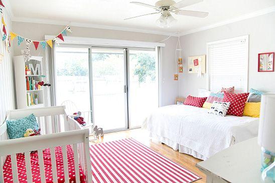 Habitacion compartida padres y bebe buscar con google - Habitaciones infantiles compartidas ...