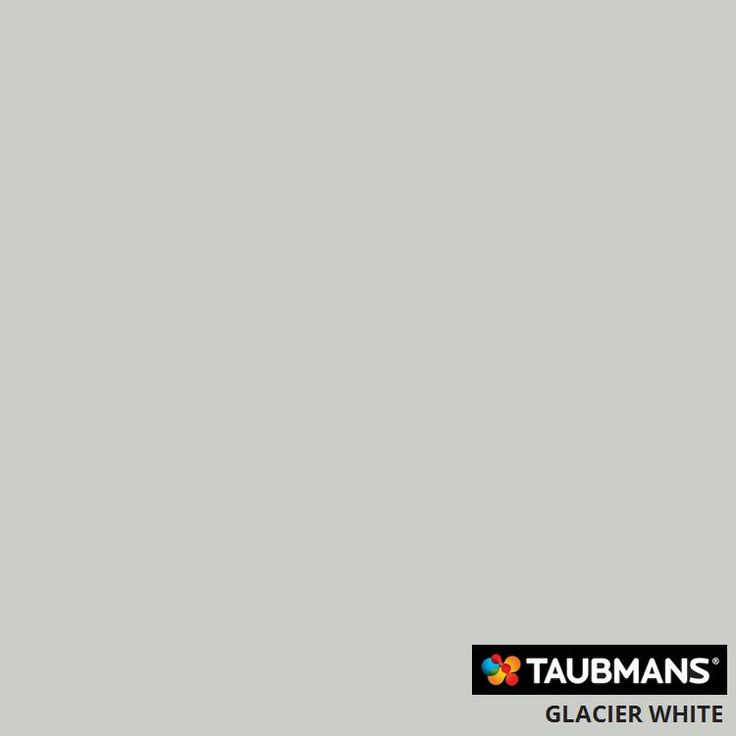 #Taubmanscolour #glacierwhite
