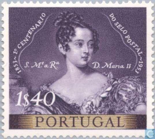 Portugal [PRT] - Stamp Anniversary 1853-1953 1953