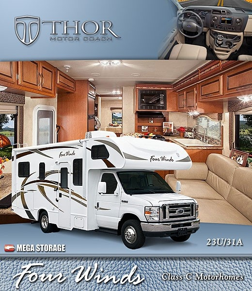 2013 Four Winds Motorhomes: Class C RV by Thor Motor Coach, To find out more about why these Class C Motorhomes have been at the top of the best sellers list check out http://ThorMotorCoach.com or http://FourWinds-ClassC.com