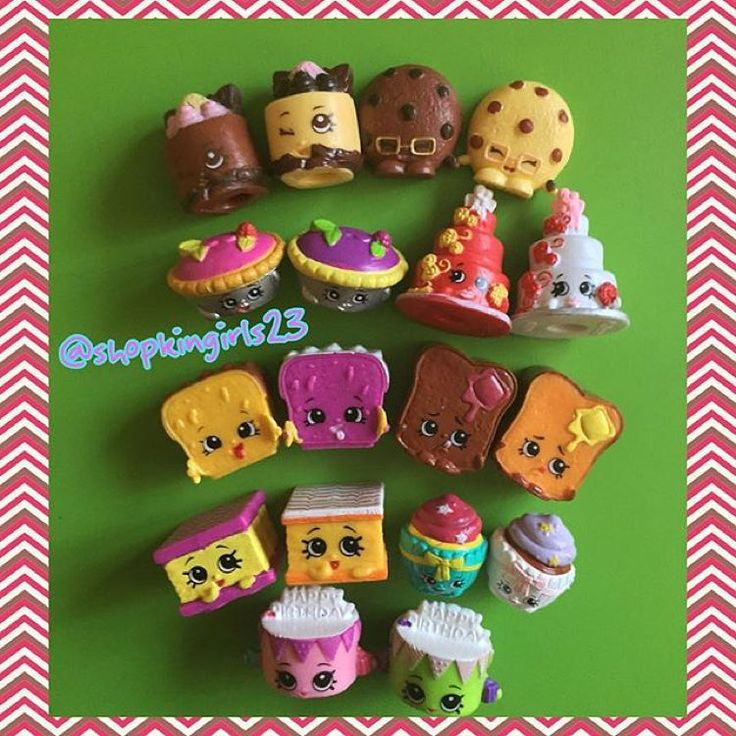All the Bakery Shopkins! #Repost @shopkingirls23 ・・・ Season 3 Shopkins Bakery Collection #shopkins #shopkinsworld #shopkinsseason1 #shopkinsseason2 #shopkinsseason3 #shopkinscrazy #shopkinssisters #shopkinscollection