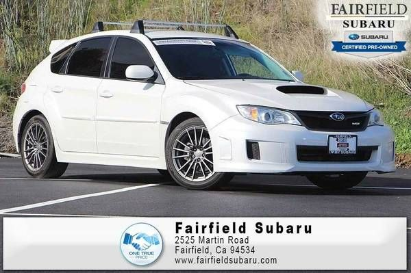 2013 Subaru Impreza Wagon WRX Whi Good deal!