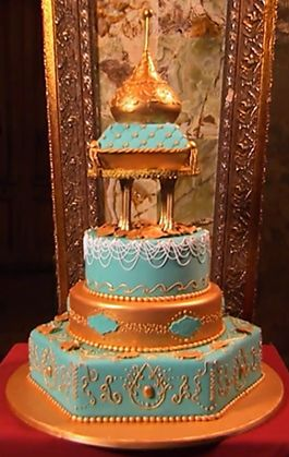 Moroccan cake cakeboss s4ep12 arabian cakes for Arabian cake decoration