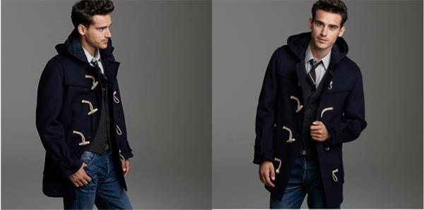 Красивые мужчины в пальто