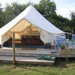 Glamping - camping but better!