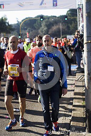 41st Roma-Ostia Half Marathon -Runners on the 41st Roma-Ostia half marathon on March 1st, 2015/. Photo taken on: March 01st, 2015