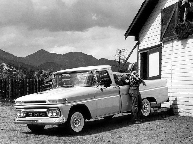 1962 GMC Pickup Press Photo - USA