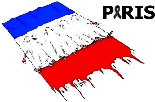 Pray for Paris? But what God? Not of the Catholic religion, which has fans who want the supremacy to others, or to the Islamic religion, which has fans who want the supremacy to others? Pray, but also act !!! All that is happening in the world in the twenty-first century is the result of Humanity's decay. And this decline is due to religious fanaticism (other than profess a religion without problems) due to widespread apathy due to the lack of culture and critical sense, but above all due…