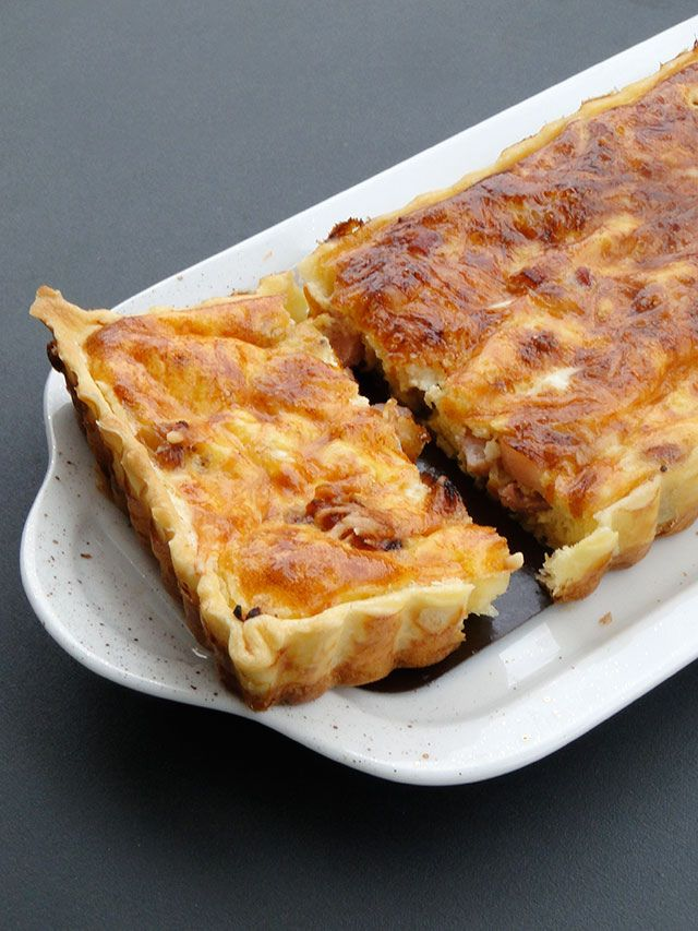 Wooded types love French onion tart