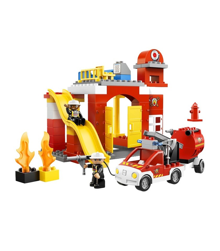 Ephraim wishes he had this. Duplo LEGO Ville Fire Station