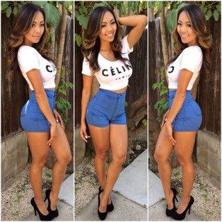 Street Smart Jeans | High waist and Shorts
