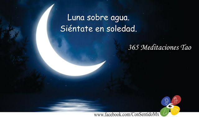 conSentido: REFLEJO | Luna sobre agua, Espiritualidad, Meditacion