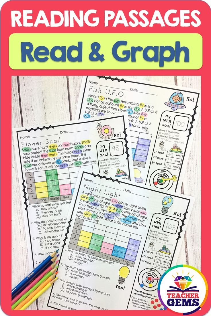 Read \u0026 graph reading passage worksheets with a mix of fiction and  non-fiction where students practice go…   Reading passages [ 1104 x 736 Pixel ]