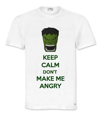 Keep Calm Hulk T-Shirt  Excelcy.com
