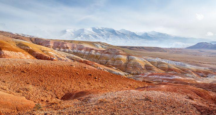 Altai mountains, ущелье Кызылшин