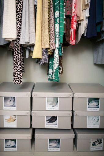 Oltre 25 fantastiche idee su armadio di scarpe su pinterest - Scatole scarpe ikea ...
