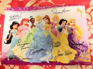 if you write a letter to a character at disney (walt disney world communications p.o. box 10040 lake buena vista, fl 32830-0040), they will send you an autographed photo back!
