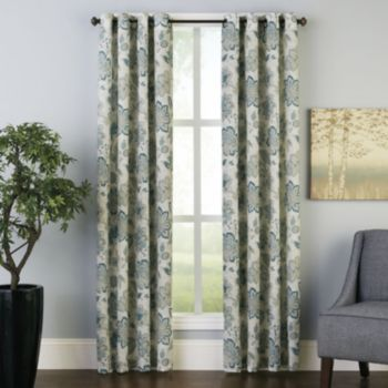 Peri francesca window panel curtains pinterest the o 39 jays the wall and kohls - Kohls kitchen curtains ...