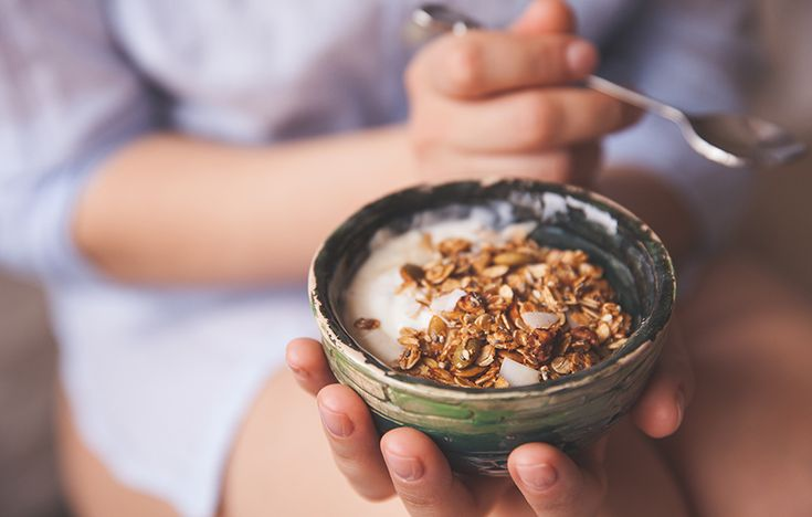 Granola can range from a nutritious, crunchy breakfast cereal to a grain-based dessert. Consider these four things before you buy granola or bake your own.