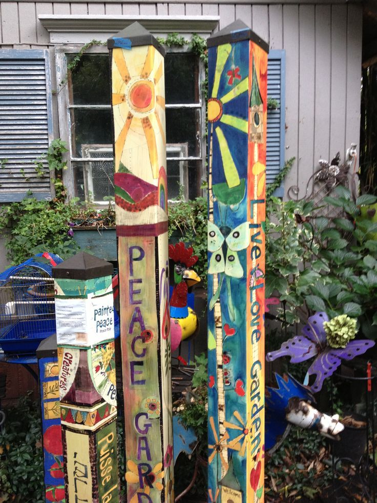 165 best images about world peace on pinterest for Garden art pole
