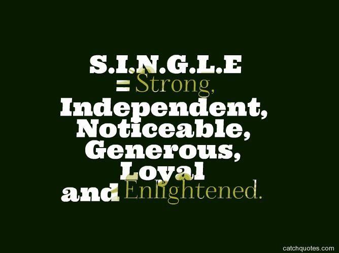Quotes Happy Single