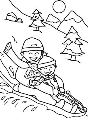 Printable Winter Colouring Pages : 43 best printable color pages images on pinterest