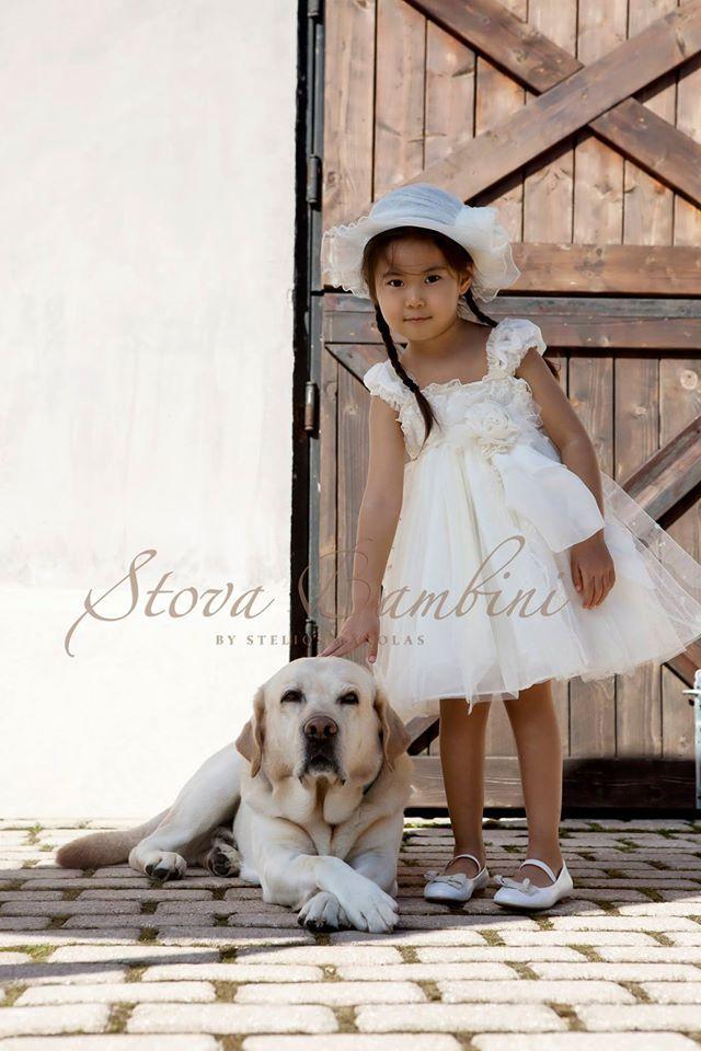 Βαπτιστικό Φόρεμα Stova Bambini Topaz(G7.15)