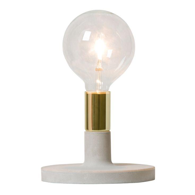 Linda lamp, brass - Watt & Veke #interior #design