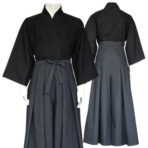 kendo-gi-hakama-set-schwarz---blaugrau.jpg (500×500)