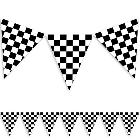 Cars Birthday Party on race car bunting