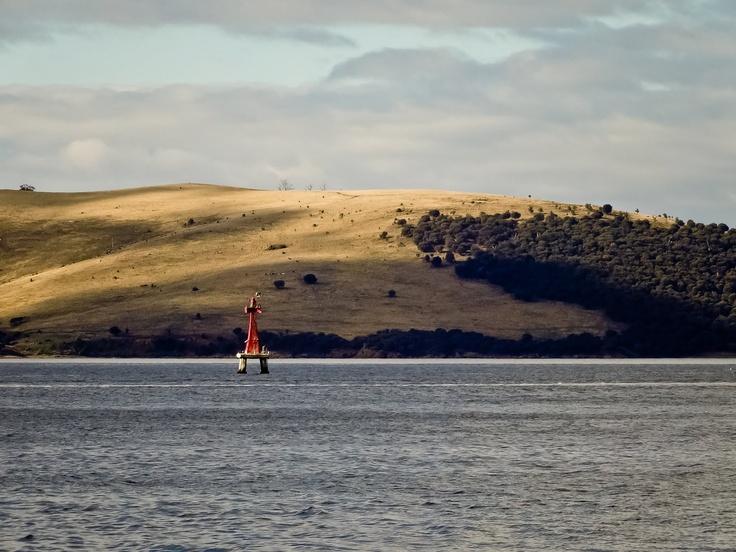 The Derwent Estuary.