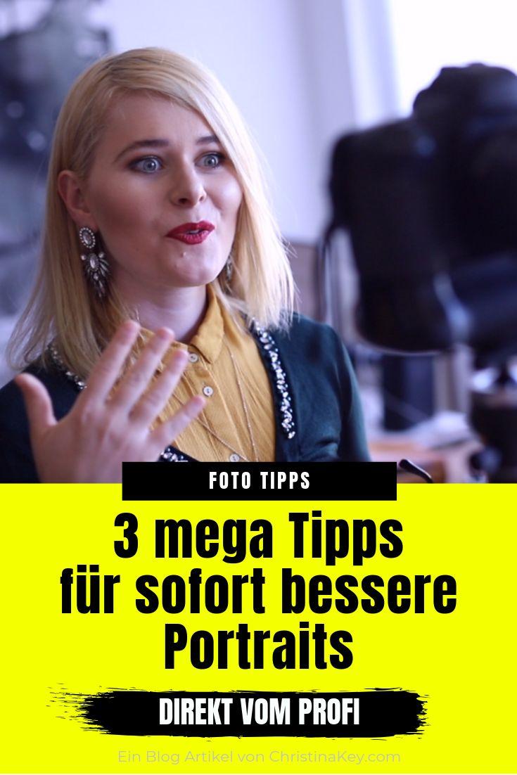 3 MEGA TIPPS FÜR SOFORT BESSERE PORTRAITS!