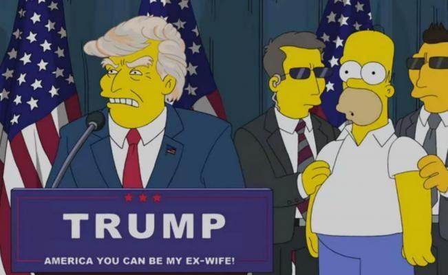"""""""Los Simpson"""" predijeron la victoria de Donald Trump"""